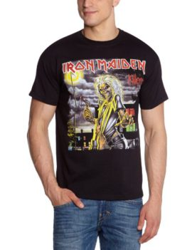 Collectors-Mine-Iron-Maiden-Killers-Cover-T-shirt-Homme-0