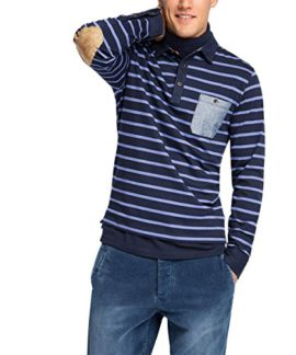 Esprit-105ee2k018-Yd-Str-Polo-Ls-Polo-Homme-0