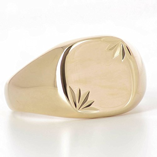 18 carats Chevali/ère Wonderful Gold Plaqu/é Or 750//000 ISADY Bague Mixte Homme Femme