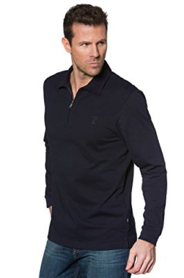 JP1880-Homme-Grandes-tailles-Polo-Shirts-Manches-longues-Casual-T-shirt-Taille-L7XL-707864-0