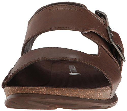 Merrell Downtown Backstrap Buckle, Sandales Bout Ouvert Homme