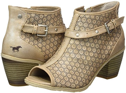 807 Ouvert Mustang 1221 318Bottes Bout Femme Qsrthd
