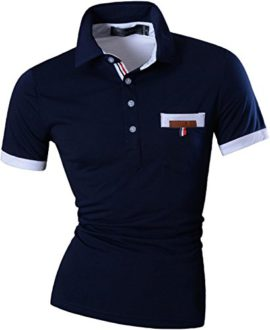 jeansian-Homme-Slim-Fit-Polos-Short-Sleeved-Casual-Tee-T-Shirt-U012-0