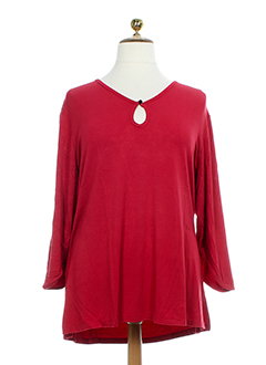 be et the et queen cols et ronds femme de couleur rouge
