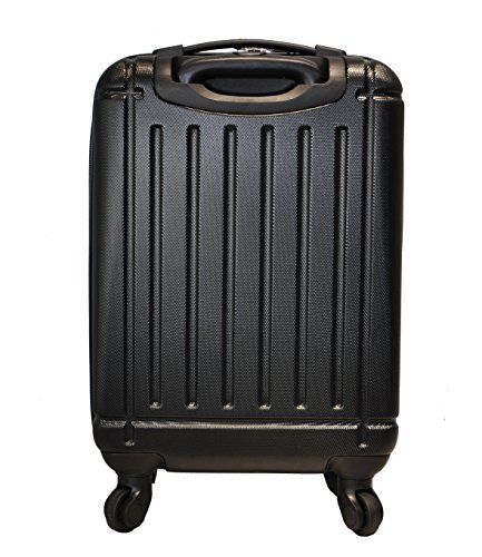 5 cities abs bagage cabine main valise rigide l ger 4 roulettes approuv es pour ryanair. Black Bedroom Furniture Sets. Home Design Ideas