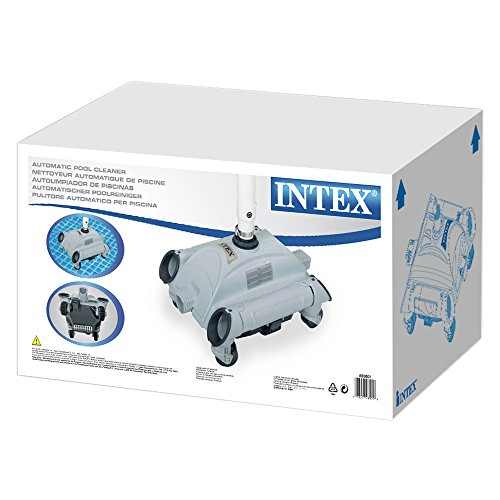 Intex robot de piscine nettoyeur automatique aspirateur for Robot piscine intex