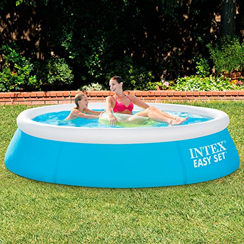 Intex easy set piscine hors sol for Piscine intex hors sol