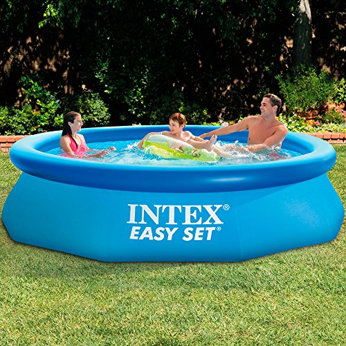 intex piscine easy set pools de support bleu. Black Bedroom Furniture Sets. Home Design Ideas