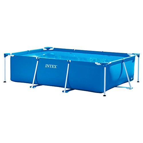 Intex piscine piscinette metal frame for Piscine metal