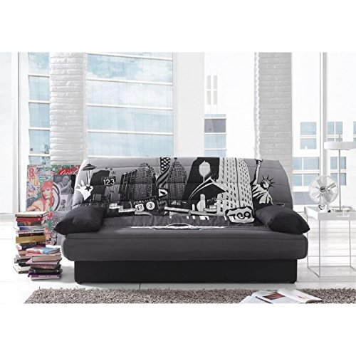 coco banquette clic clac convertible lit coffre. Black Bedroom Furniture Sets. Home Design Ideas