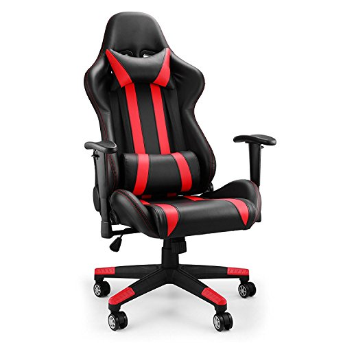chaneau chaise gamer racing chaise de bureau ergonomique pour ordinateur chaise de bureau gaming. Black Bedroom Furniture Sets. Home Design Ideas