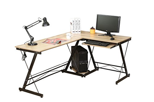 Hlc table bureau informatique bureau d angle ordinateur