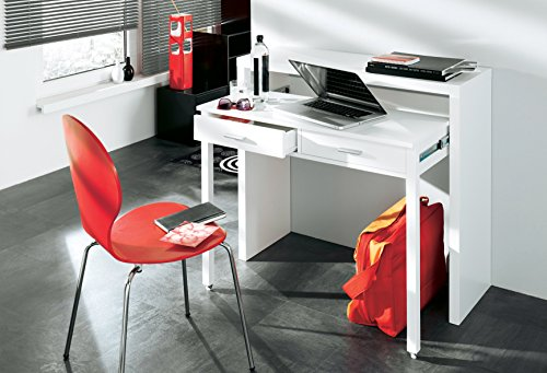 Home innovation table bureau extensible console bureau for Bureau 40 cm de profondeur