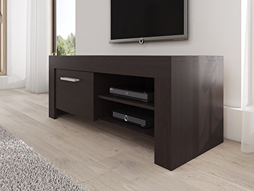 meuble tv armoire support rome ch ne fonc weng 120 cm. Black Bedroom Furniture Sets. Home Design Ideas