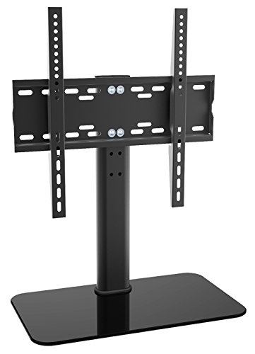 ricoo lcd tv support pied en verre support fs304 pied. Black Bedroom Furniture Sets. Home Design Ideas
