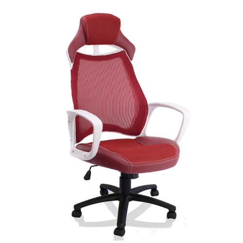 tresko chaise fauteuil si ge de bureau racing sport ergonomique inclinable a. Black Bedroom Furniture Sets. Home Design Ideas