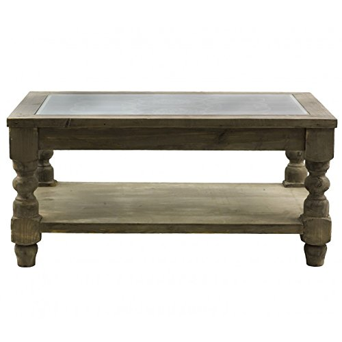 Table basse salon bois fer sammlung von for Table bout de canape en verre