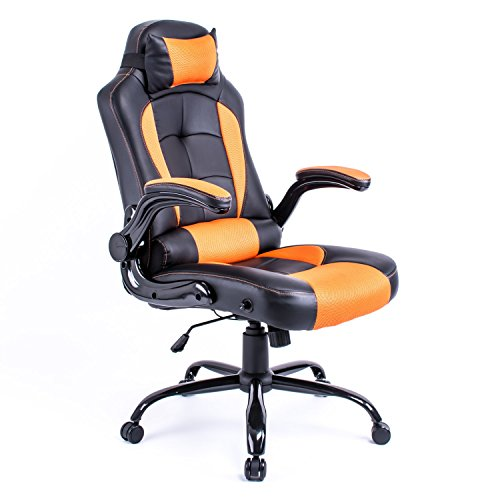 Chaise de bureau chaise pivotante gaming racing fauteuil - Fauteuil bureau inclinable ...