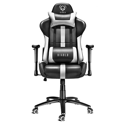 Diablo x player si ge gaming fauteuil gamer chaise de - Chaise de bureau gaming ...