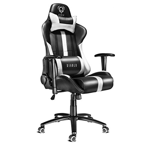 diablo x player si ge gaming fauteuil gamer chaise de bureau avec accoudoirs. Black Bedroom Furniture Sets. Home Design Ideas