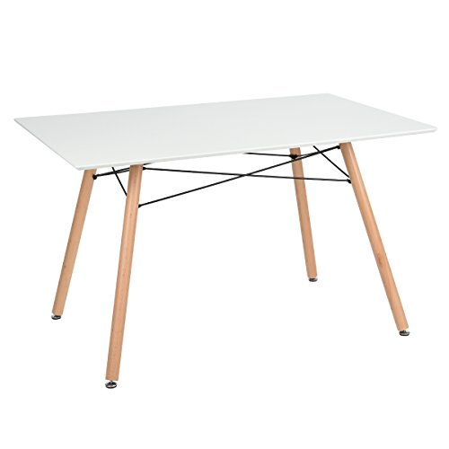 Furniturer fauteuil table de salle manger moderne design for Table carre salle a manger