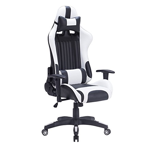 iwmh racing chaise de bureau si ge gaming de luxe fauteuil. Black Bedroom Furniture Sets. Home Design Ideas