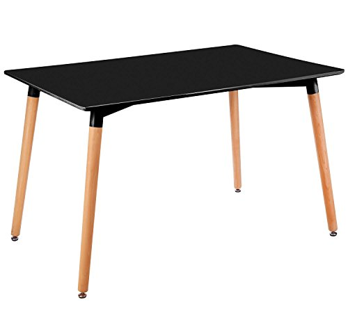 Kayelles table manger design nata familiale 120x80cm for Table salle a manger cuisine
