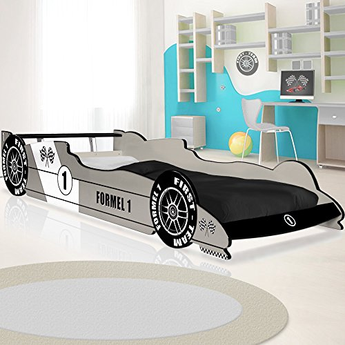 lit voiture f1 enfant design formule 1 couleur au choix. Black Bedroom Furniture Sets. Home Design Ideas