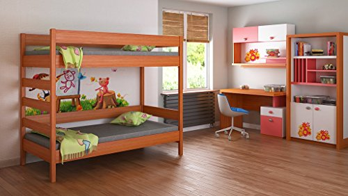 lits superpos s pour enfants juniors unique 140 x 70. Black Bedroom Furniture Sets. Home Design Ideas