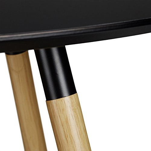 relaxdays table manger ronde arvid style scandinave 6. Black Bedroom Furniture Sets. Home Design Ideas
