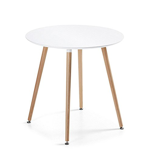 Table manger ronde design blanche 80cm alta for Table salle a manger ronde blanche