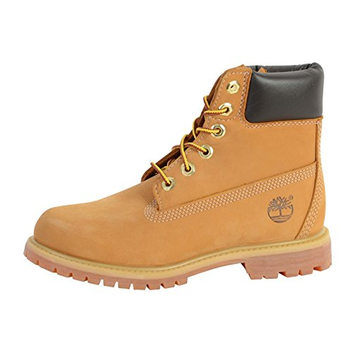 timberland 6 premium boot w chaussures montantes femme marron wheat waterbuck. Black Bedroom Furniture Sets. Home Design Ideas