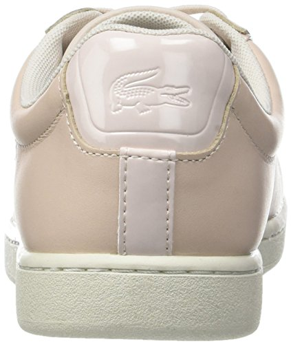 Lacoste carnaby evo 417 1 spw lt baskets basses femme - Lacoste carnaby evo cls baskets en cuir perfore ...