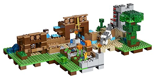 lego 21135 lego minecraft jeu de construction la bo te de construction 2 0. Black Bedroom Furniture Sets. Home Design Ideas