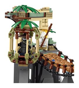 lego 70608 lego ninjago jeu de construction le pont de la jungle. Black Bedroom Furniture Sets. Home Design Ideas