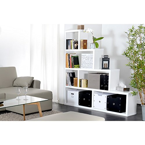 anna etag re de s paration blanche. Black Bedroom Furniture Sets. Home Design Ideas