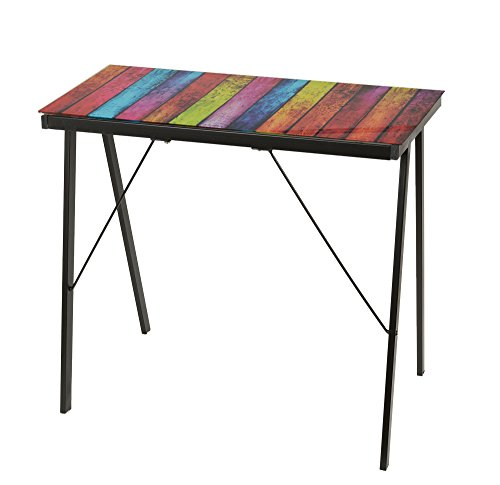 Bureau design diff rents designs 6 mm table en verre table for Table de bureau en verre