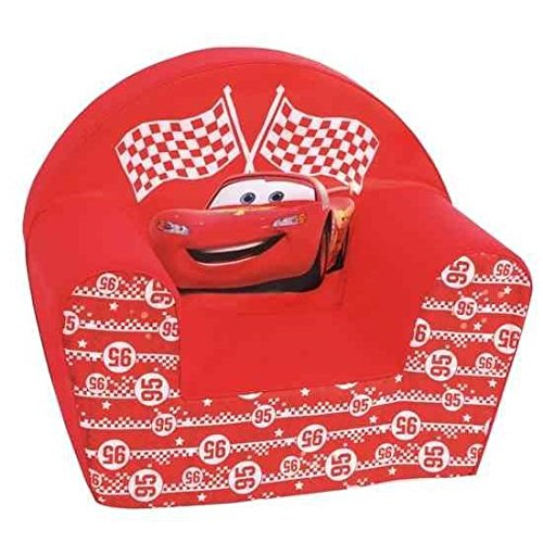 disney cars fauteuil club rouge. Black Bedroom Furniture Sets. Home Design Ideas