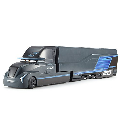mattel fcw00 cars 3 movie jackson storm trailer. Black Bedroom Furniture Sets. Home Design Ideas