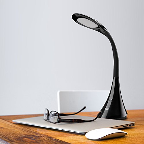 le lampe de bureau led lampe chevet flexible niveaux de. Black Bedroom Furniture Sets. Home Design Ideas