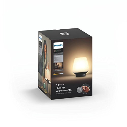 Philips luminaire t l command wellness lampe de table hue t l commande variateur de lumi re - Lampe variateur de lumiere ...