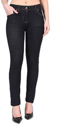 SugerDiva-Femmes-Jeggings-Ladies-Fit-Skinny-Couleur-Stretchy-Taille-36-50-0