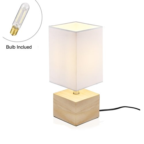 Viugreum lampe de chevet decoration moderne e14 ampoule - Table pour lampe de salon ...