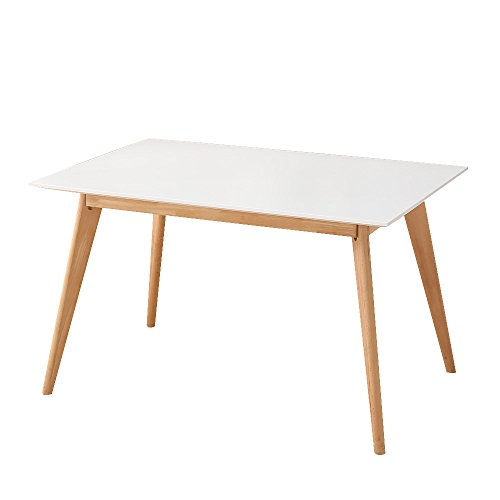 Table de salle manger extensible 6 8 personnes design for Table scandinave extensible