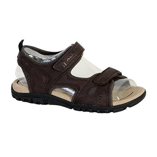 Geox Uomo Strada A, Sandales Bout Ouvert Homme