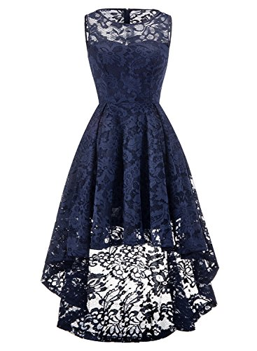 a5aec30cafb MuaDress Robe Femme soirée cocktail bal high low jupe Asymétrique ...