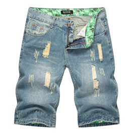 Anyu-Shorts-Jeans-Casual-pour-Hommes-0