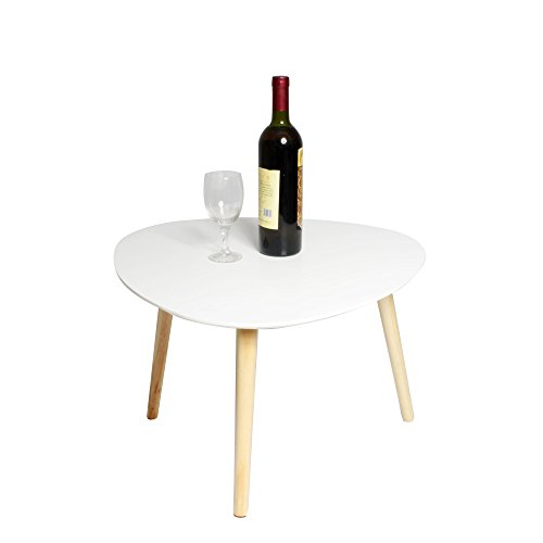 table basse r tro mdf triangle forme table d 39 appoint. Black Bedroom Furniture Sets. Home Design Ideas