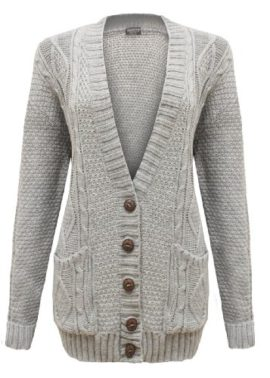 Cexi-Couture-Gilet-Femme-Tricot-Maille-Bouton-Style-Grand-Pre-Cardigan-Neuf-36-42-Gris-Clair-0