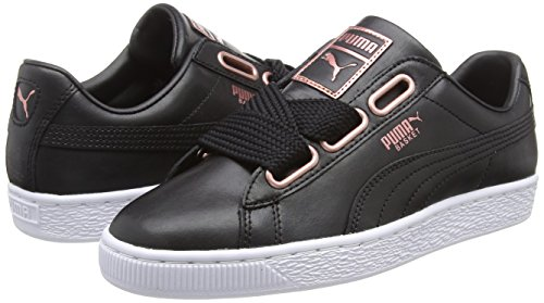 Puma Basket Heart Leather Wn's, Sneakers Basses Femme